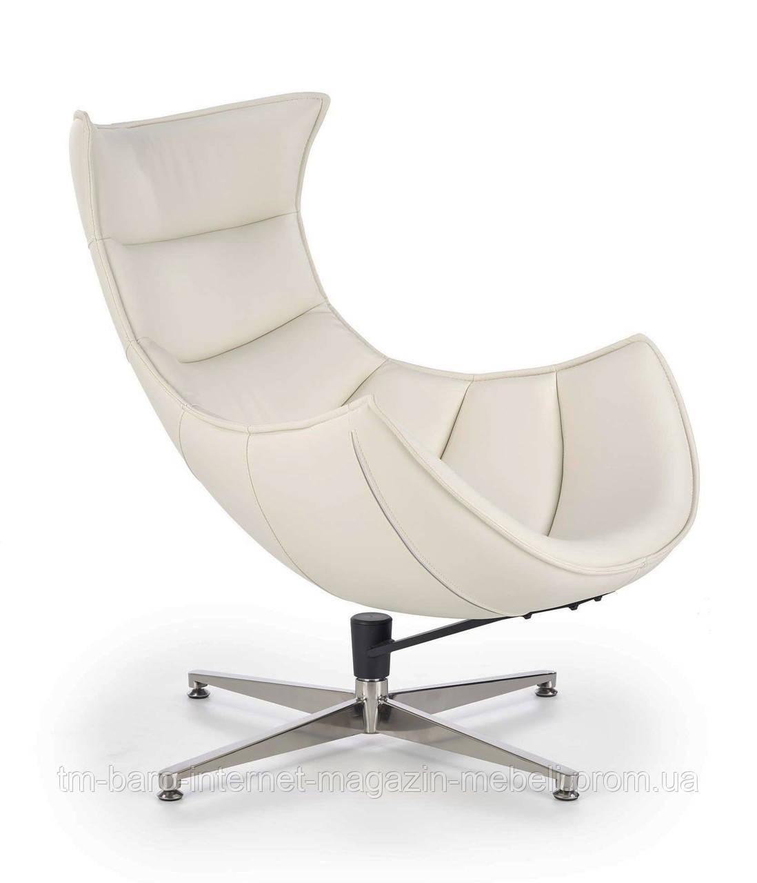 Кресло Luxor (Люксор) белый, Halmar