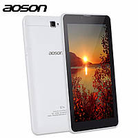 Планшет Aoson S7+ 7 inch DUAL SIM Card 3G Phone Call Tablets Android 7.0 Tablet PC IPS 1024*600 Quad Core Mobi