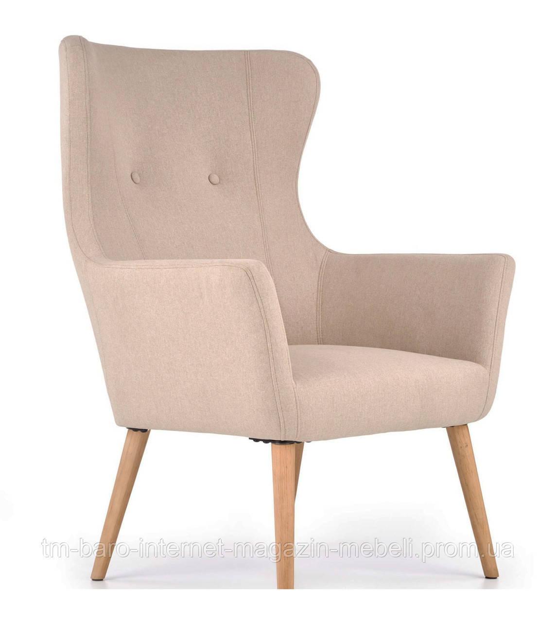 Кресло Cotto (Котто) бежевый, ткань, Halmar