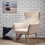 Кресло Cotto (Котто) бежевый, ткань, Halmar, фото 9