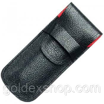 Чехол для ножа Victorinox (91-93 мм, 1-2 слоя) кожаный, черный 4.0736