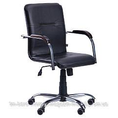 Кресло Самба-RC, черный, экокожа