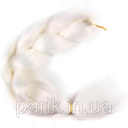 ☁️ Каникалон для брейд белый однотонный ☁️
