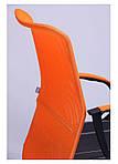 Кресло Лайт Net LB Софт АМФ-8 Неаполь N-51, сетка оранжевая, фото 5