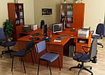 Стол письменный SL-108 (1600х720х750мм) яблоня, фото 7