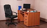 Стол письменный SL-103 (1270х600х750мм) яблоня, фото 8
