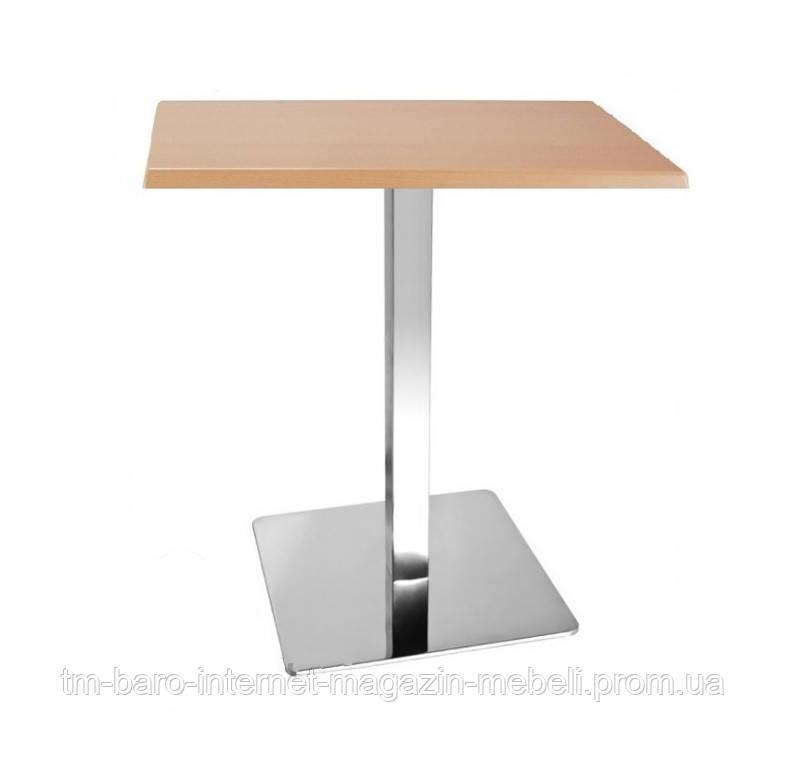 Стол Рим1, h72, кавадратный 80х80 см, h72 см, дуб