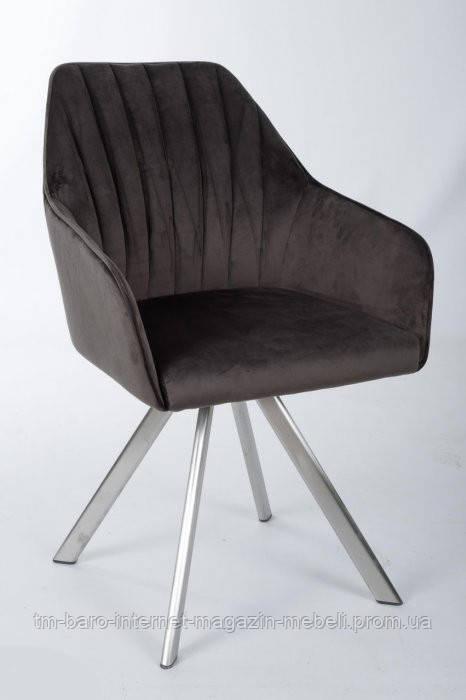 Кресло поворотное Galera (Галера), анрацит (Бесплатная доставка), Nicolas