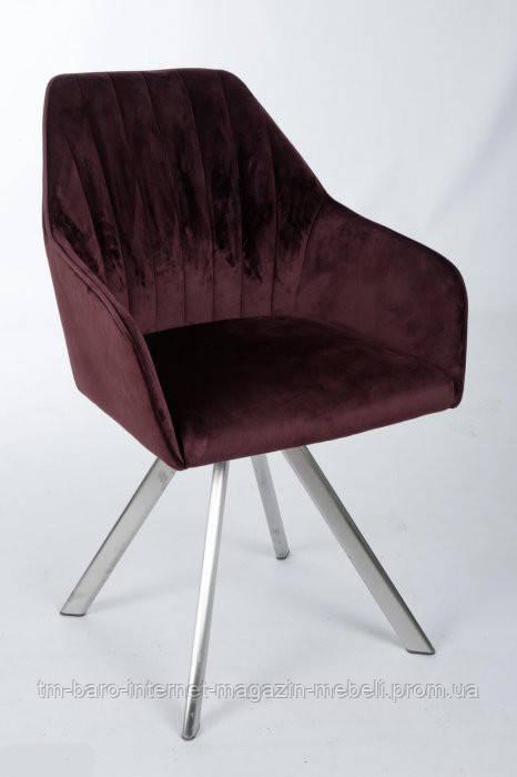 Кресло поворотное Galera (Галера), гранат (Бесплатная доставка), Nicolas