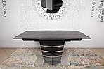 Стол обеденный BALTIMORE (160+50)*90*76) керамика коричневый, Nicolas, фото 2