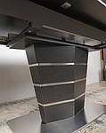 Стол обеденный BALTIMORE (160+50)*90*76) керамика коричневый, Nicolas, фото 4