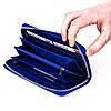 Женский кошелек Butun 639-004-013 кожаный синий , фото 4