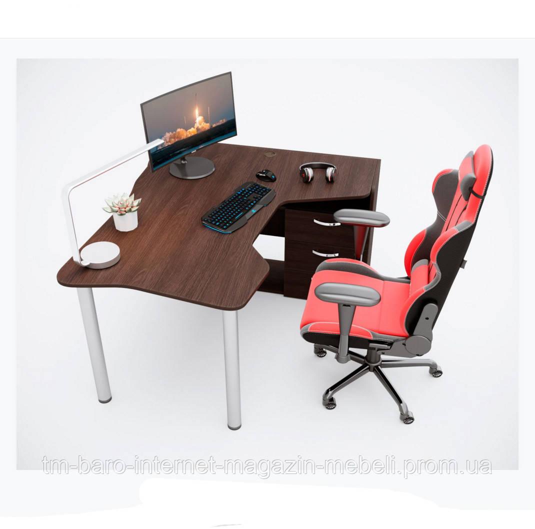 Геймерский стол IGROK-TOR, орех/орех, ZEUS™