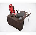 Геймерский стол IGROK-TOR, орех/орех, ZEUS™, фото 2