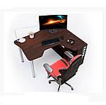 Геймерский стол IGROK-TOR, орех/орех, ZEUS™, фото 6