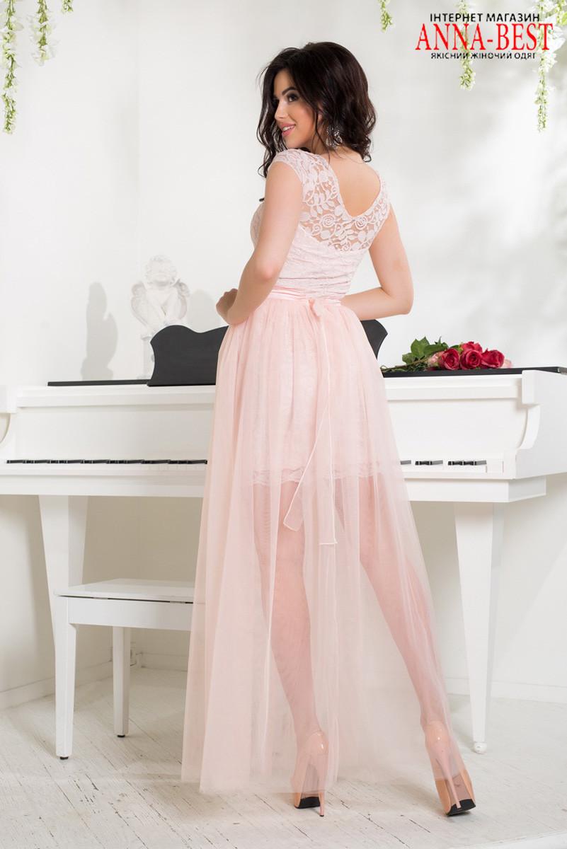 aa3d8f3ad12 ... выпускное платье трансформер розовое
