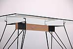 Стол обеденный Каттани, черный/стекло прозрачное, Бесплатная доставка, фото 5
