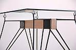 Стол обеденный Каттани, черный/стекло прозрачное, Бесплатная доставка, фото 6