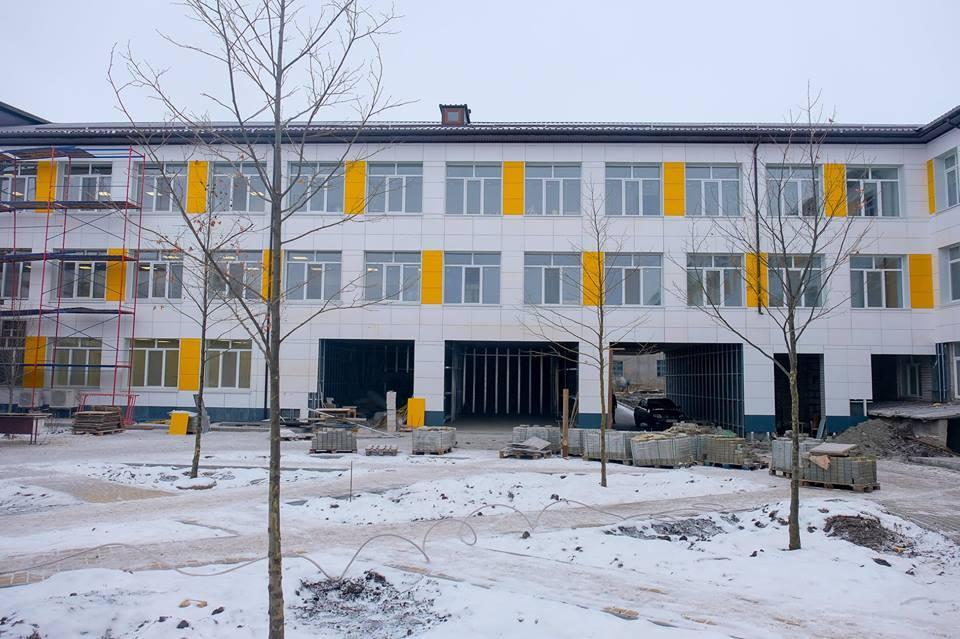 Магдалиновская опорная школа: Монтаж вентсистемы с приминением фиброцементных плит. 5