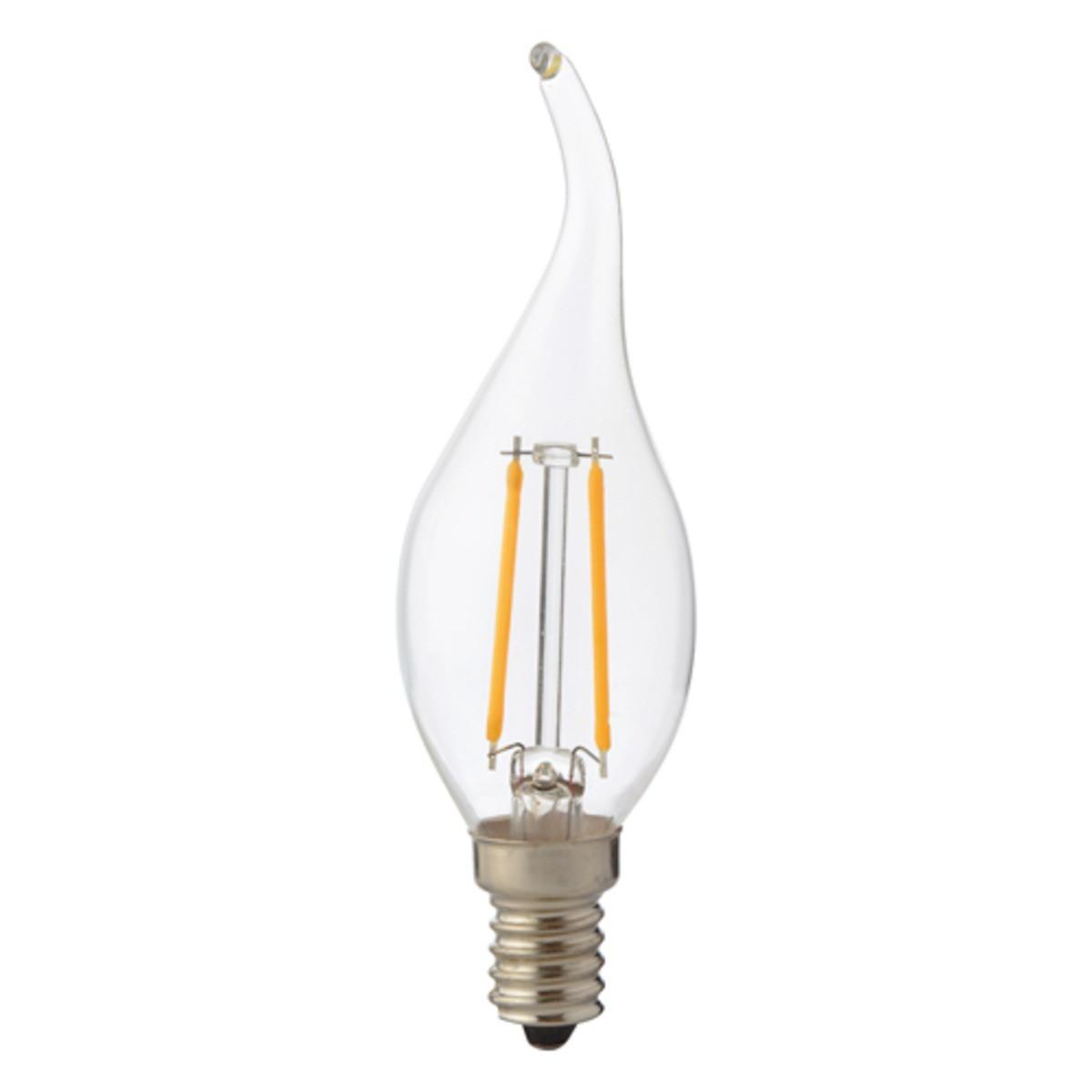 Лампа Horoz Filament FLAME-4свеча на ветру 4W Е14 4200К 001-014-0004-030