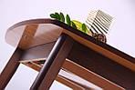 Стол обеденный раздвижной Орлеан, орех светлый, фото 6