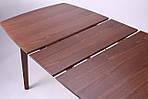Стол обеденный раздвижной Орлеан, орех светлый, фото 8