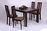 Стол раздвижной Стоун 1200(2400)х900х755 орех темный, фото 9