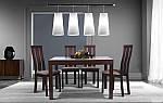 Стол раздвижной Стоун 1200(2400)х900х755 орех темный, фото 10