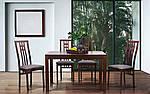 Стол раздвижной Милтон 1200(1660)х800х740 орех темный, фото 10