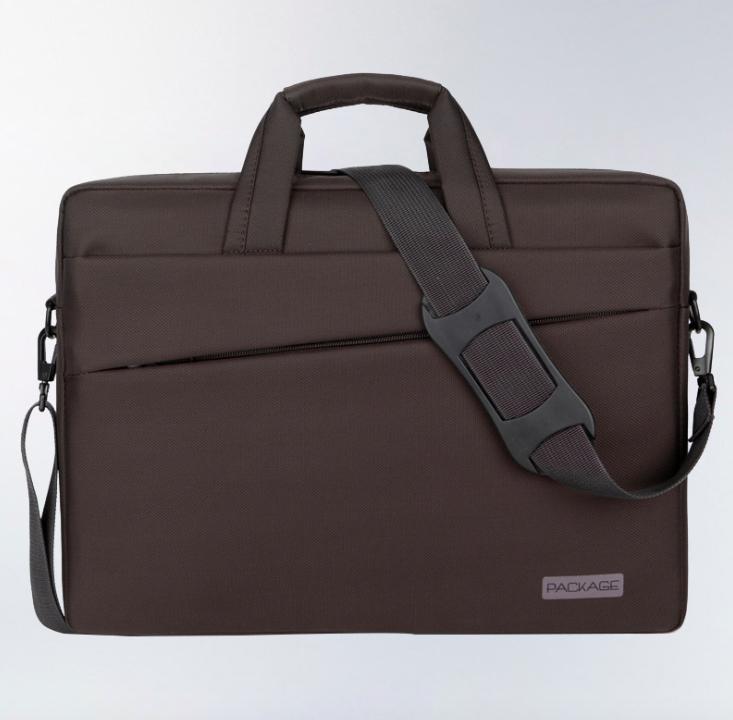 Сумка чехол Package для ноутбука 13 14 дюймов коричневый
