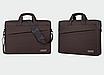 Сумка чехол Package для ноутбука 13 14 дюймов коричневый, фото 2
