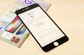 Защитное стекло 5D для iPhone 7 Plus / 8 Plus (Black)