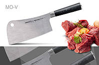 "Нож-топорик кухонный для мяса, 180 мм, Samura ""Mo-V"""