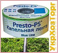 Щелевая капельная лента Presto Blue line 1000 м (10 см), фото 1