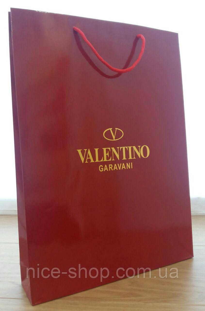 Подарочный пакет Valentino,вертикаль,maxi