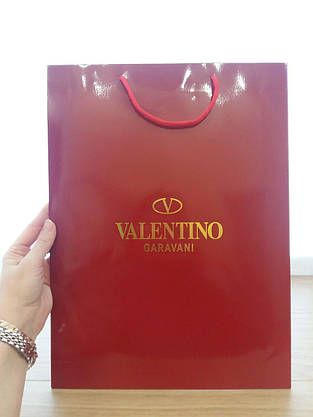 Подарочный пакет Valentino,вертикаль,maxi, фото 3