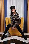 Перья-цепи блуза Эльвира д/р, фото 2