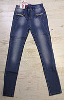Джинсовые брюки для девочек KE YI QI оптом, 134-164 рр.