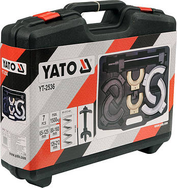 Съемник пружин подвески McPherson YATO YT-2536, фото 2