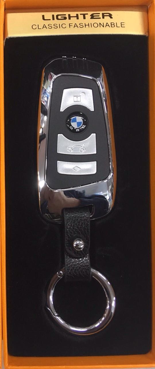 Брелок-зажигалка Usb/Юсб Автоключ BMW в подарочной коробке