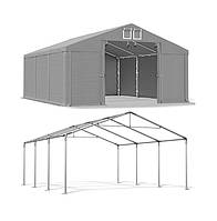 Тентовый гараж  ПВХ 530 г/м  4 x 6m