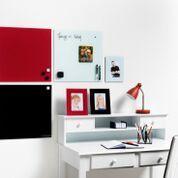 Доска стеклянная 2x3 магнитная красная 40х60см. (TSZ64R)