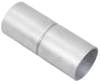 Муфта труба-труба с ограничителем, IP40, д.50мм