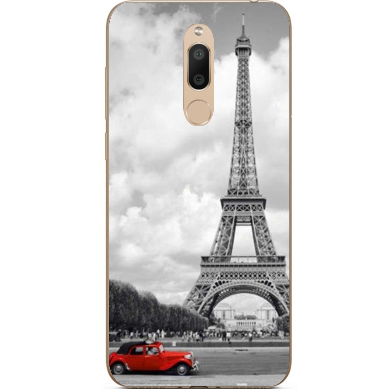TPU чехол з картинкою (силікон) для Meizu M6T Париж