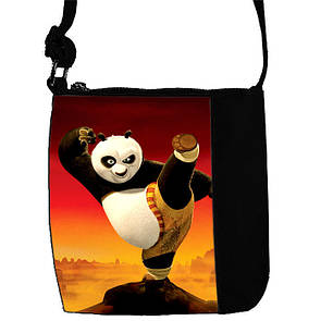 Детская сумка на плечо с пандой