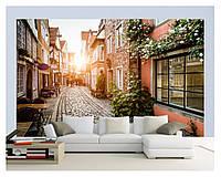 "3D фотообои ""Улица старого города"""