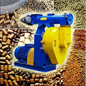 Промышленный гранулятор  GRAND-400 с двигателем 37 кВт 380В