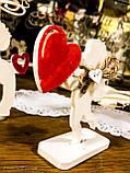 Ангел з серцем, сувенір на день святого Валентина, фото 2