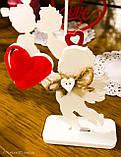 Ангел з серцем, сувенір на день святого Валентина, фото 5