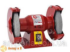 Станок точильный настольный с двумя шлифкругами 120 Вт, 2950 об/мин; 125х16х12,7 мм INTERTOOL DT-0806